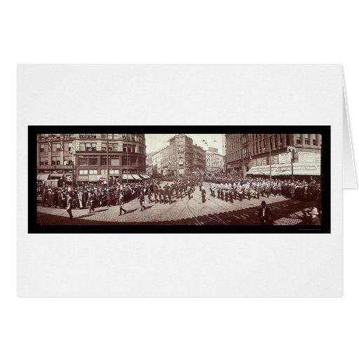 Artillería en la foto 1903 de Boston Tarjetas