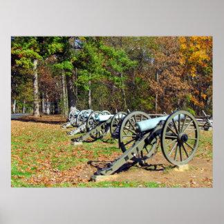 Artillería Póster