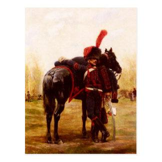 Artillerie à Cheval de la Garde Postcard
