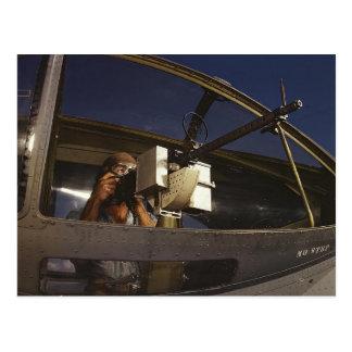 Artillero de PBY Tarjeta Postal