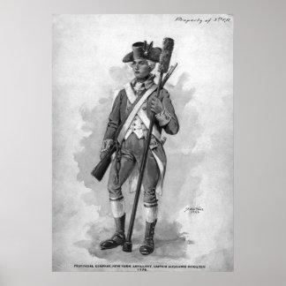 Artillero revolucionario póster