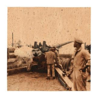 Artilleros afroamericanos posavasos