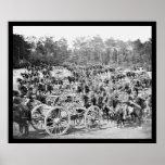 Artillery Battery M Fair Oaks, VA 1862 Print