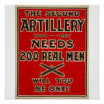 Artillery Call to Arms Poster