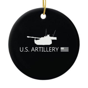 Artillery Ceramic Ornament
