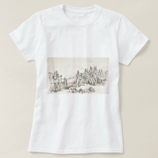 Artillery in Battle at Waterloo T-Shirt