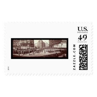 Artillery In Boston Photo 1903 Stamp