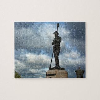 Artillery Monument - Gettysburg National Park Jigsaw Puzzle