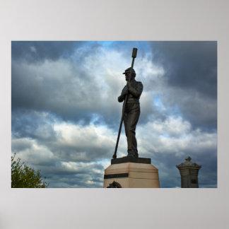 Artillery Monument - Gettysburg National Park Poster