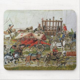 Artillery train of Maximilian I Mouse Pad