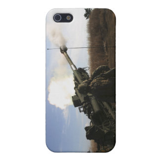 Artillerymen fire a 155mm round cover for iPhone SE/5/5s