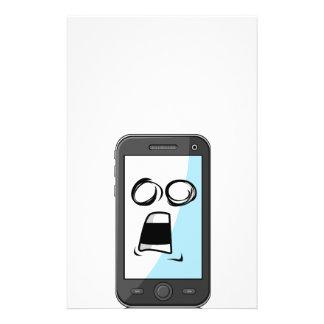 Artilugio con la expresión divertida - Smartphone