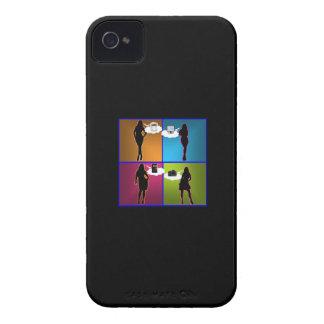 Artilugio-Ho caso de la identificación del iPhone Case-Mate iPhone 4 Cobertura