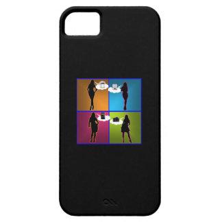 Artilugio-Ho caso de la identificación del iPhone iPhone 5 Carcasas
