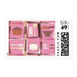 Artilugios de la cocina - franqueo rosado