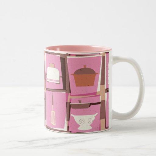 Artilugios de la cocina - taza rosada