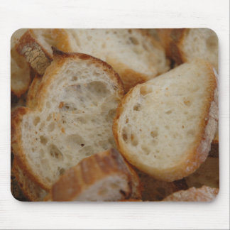 Artisan Bread Slices Mouse Pad