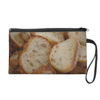 Artisan Bread Slices Wristlet Purse