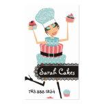 Artisan cake diva cupcakes bakery business card