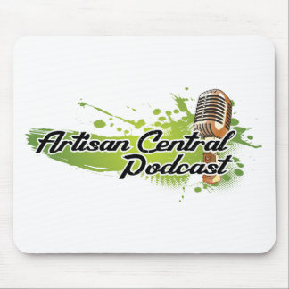 Artisan Central Podcast Mouse Pad