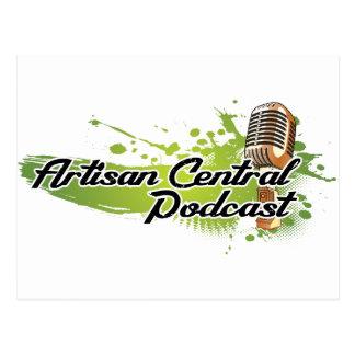 Artisan Central Podcast Postcard