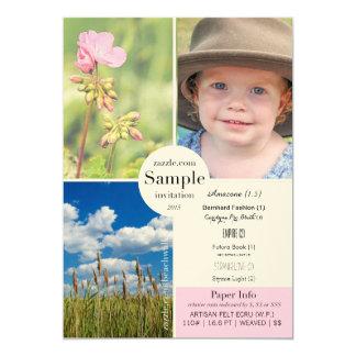 Artisan Felt Ecru 2015 Paper Sample Card