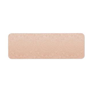 Artisan GOLD Engraved Design Label