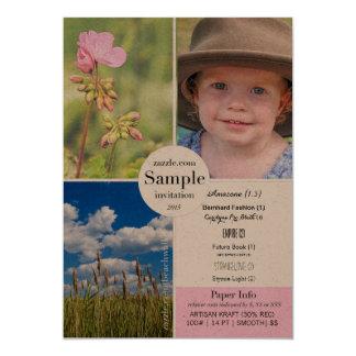 Artisan Kraft 2015 Paper Sample Card