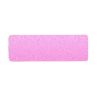 Artisan PINK Engraved Design Label