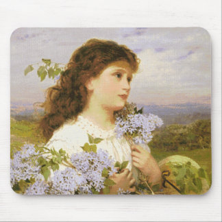 Artist Anderson's Sophie The Time Of The Lilacs Mouse Pad