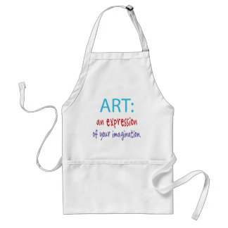 Artist -art adult apron