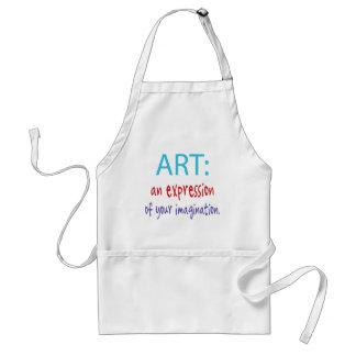 Artist -art adult apron