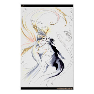 Artist as Goddess Poster