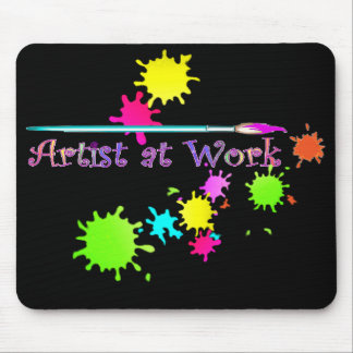 ARTIST at WORK by SHARON SHARPE Mouse Pad