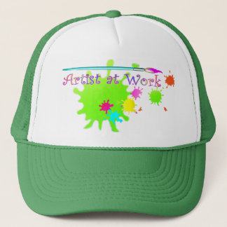 ARTIST at WORK by SHARON SHARPE Trucker Hat