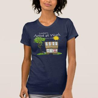 Artist at Work Dark T-Shirt
