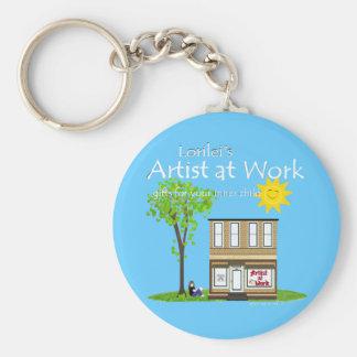 Artist at Work Keychain 2