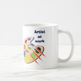 Artist at work - mug