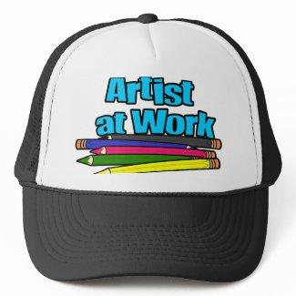 Artist at Work Pencils hat