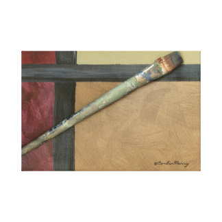 Artist Brush Stretched Canvas Prints