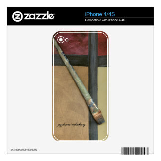 Artist Brush Decal For The iPhone 4