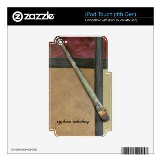 Artist Brush Skins For iPod Touch 4G