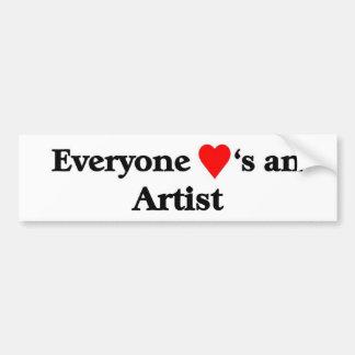Artist Bumper Stickers