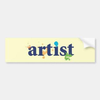 Artist Bumper Sticker