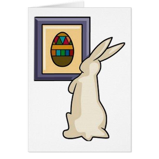 Artist Bunny Card