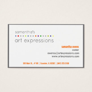 artist business card (contact to customize)