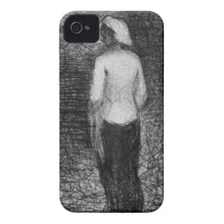 Artist by Georges Seurat iPhone 4 Covers