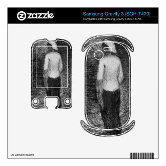 Artist by Georges Seurat Samsung Gravity 3 Skins