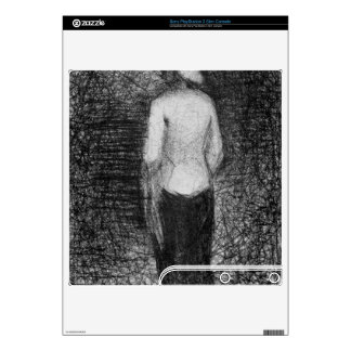 Artist by Georges Seurat PS3 Slim Decal