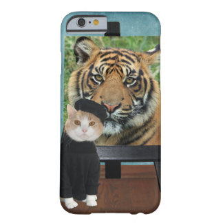 Artist Cat/Kitty Barely There iPhone 6 Case